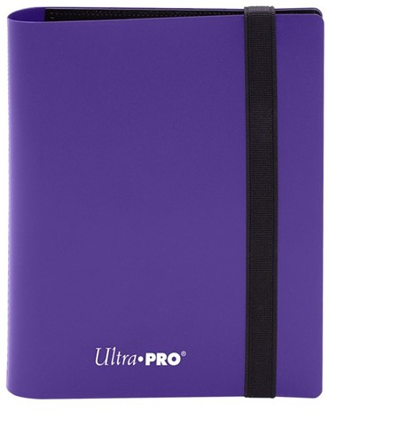 Pro-Binder 2-Pocket Eclipse Royal Purple