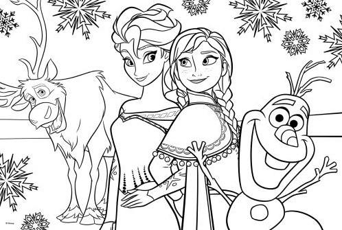 Disney Frozen - Puzzelen & Kleuren-2
