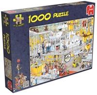 Jan van Haasteren - De Chocolade fabriek Puzzel (1000 stukjes)-1