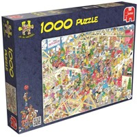 Jan van Haasteren - The Winter Fair Puzzel (1000 stukjes)-1