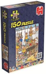 Jan van Haasteren - In De Gymzaal Puzzel (150 stukjes)