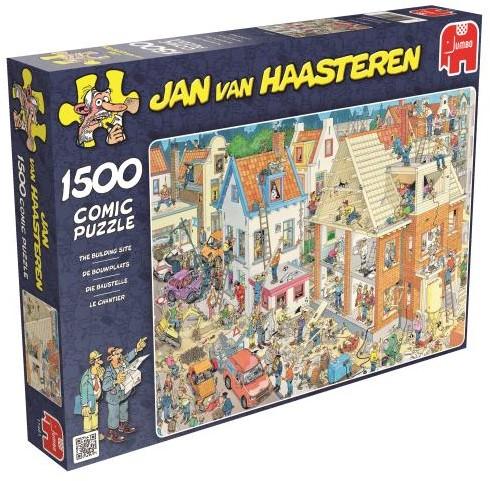 Jan van Haasteren - De Bouwplaats Puzzel (1500 stukjes)-1