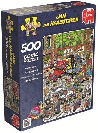 Jan van Haasteren - Verkeerschaos Puzzel (500 stukjes)-1