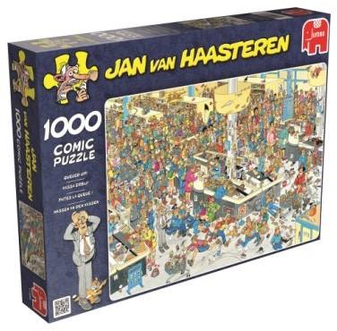Jan van Haasteren - Kassa Erbij Puzzel (1000 stukjes)