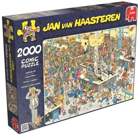 Jan van Haasteren - Kassa Erbij Puzzel (2000 stukjes)-1
