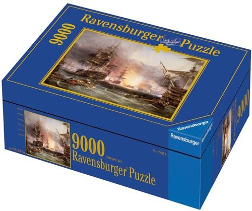 Bombardement van Algiers Puzzel (9000 stukjes)-2