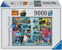 Grappige Minions Puzzel (9000 stukjes)-1