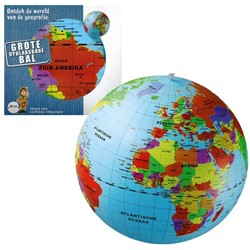Opblaasbare Wereldbol (50cm)