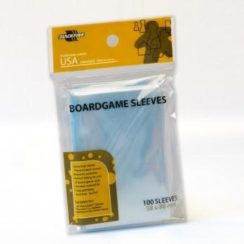 Blackfire Boardgame Sleeves - USA (58x88mm)