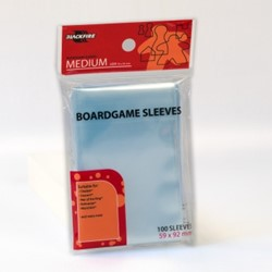 Blackfire Boardgame Sleeves - Medium (59x92mm)