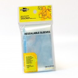 Blackfire Resealable Sleeves - Sticker (52x67mm)