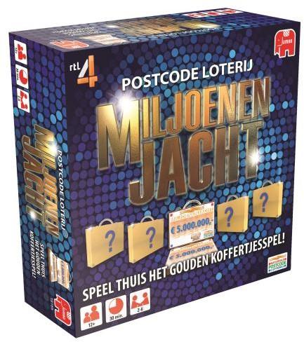 Miljoenen Jacht - Het Bordspel-1