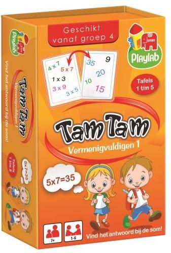 Tam Tam - Vermenigvuldigen (Playlab)-1