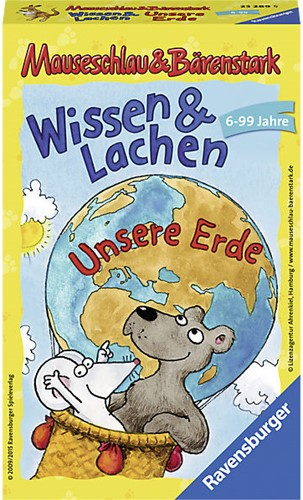 Mauseschlau & Bärenstark - Wissen & Lachen - Unsere Erde (Duits)