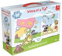 Woezel & Pip - Verhaaltjespuzzel (20 stukjes)