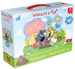 Woezel & Pip - Vloerpuzzel (15 stukjes)