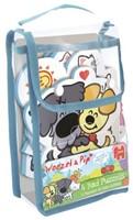 Woezel & Pip - Foam Bad Puzzel (4 in 1)-1
