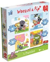 Woezel & Pip Puzzel (4 in 1)
