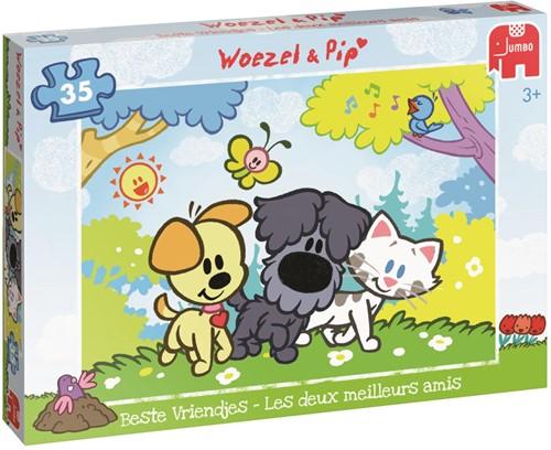 Woezel & Pip - Beste Vriendjes Puzzel (35 stukjes)-1