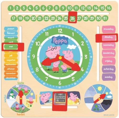 Peppa Pig Kalenderklok-1