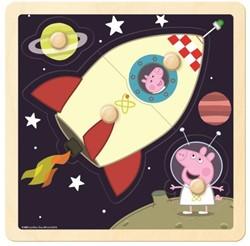 Peppa Pig Raket Knopjespuzzel (4 stukjes)