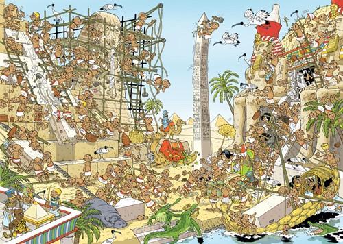 Pieces of History - De Egyptenaren Puzzel (1000 stukjes)-2