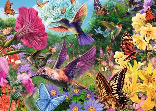 Hummingbirds Puzzel (500XL stukjes)-2