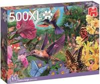 Hummingbirds Puzzel (500XL stukjes)