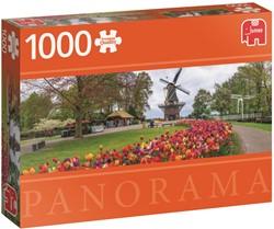 De Keukenhof - Panorama Puzzel (1000 stukjes)