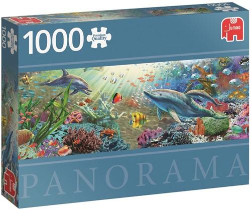Water Paradise - Panorama Puzzel (1000 stukjes)