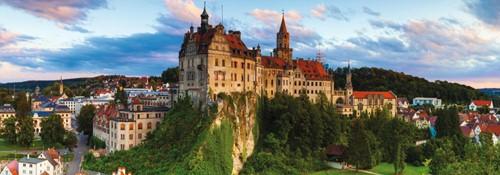 Sigmaringen Castle Germany - Panorama Puzzel (1000 stukjes)-2