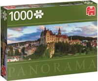 Sigmaringen Castle Germany - Panorama Puzzel (1000 stukjes)-1