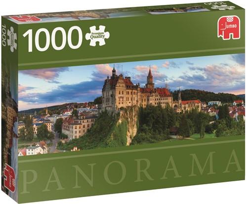 Sigmaringen Castle Germany - Panorama Puzzel (1000 stukjes)