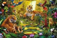 Tijgers In De Jungle Puzzel (1500 stukjes)-2
