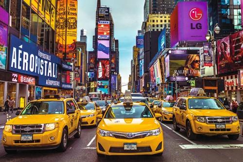 New York Taxi Puzzel (1500 stukjes)-2