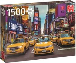 New York Taxi Puzzel (1500 stukjes)