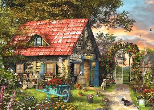Tuinhuisje Puzzel (500XL stukjes)-2