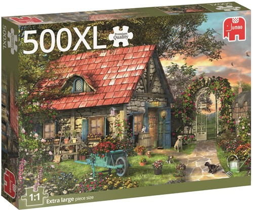 Tuinhuisje Puzzel (500XL stukjes)-1