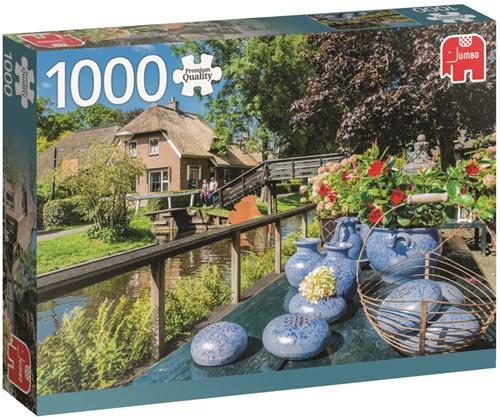 Giethoorn Nederland Puzzel (1000 stukjes)-1