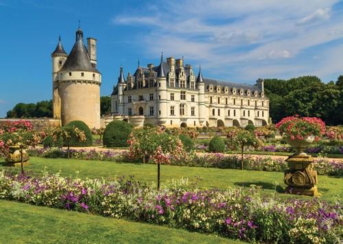 Castle in the Loire Puzzel (1000 stukjes)-2