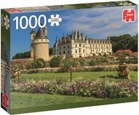 Castle in the Loire Puzzel (1000 stukjes)