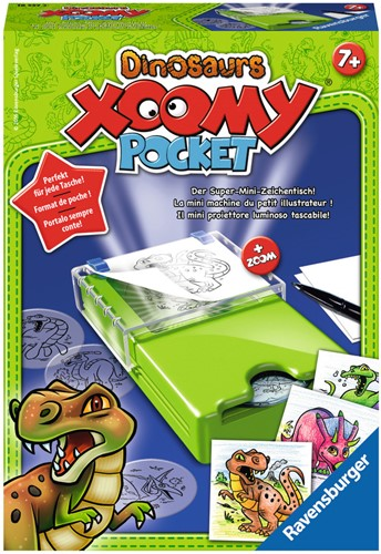 Xoomy Pocket - Dinosaurs-1