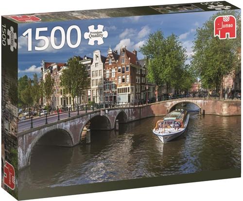 Herengracht Amsterdam Puzzel (1500 stukjes)-1