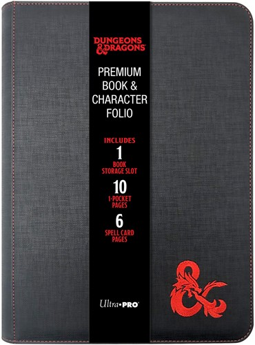 Dungeons & Dragons - Premium Zippered Book & Character Folio