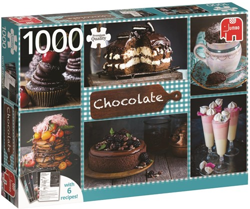 Chocolate Puzzel (1000 stukjes)