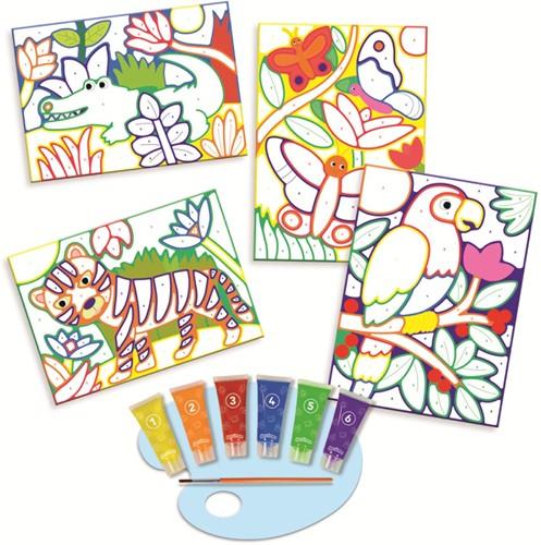 Dessineo Color - Schilderen met Nummers Jungle-2