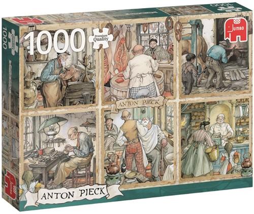 Anton Pieck - De Arbeidslieden Puzzel (1000 stukjes)