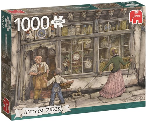 Anton Pieck - De Klokkenwinkel Puzzel (1000 stukjes)