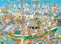 Jan van Haasteren - Tall Ship Chaos Puzzel (1000 stukjes)-2