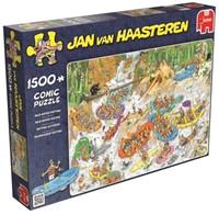 Jan van Haasteren - Wild Water Rafting Puzzel (1500 stukjes)